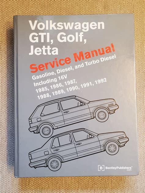 Bentley Jetta Manual