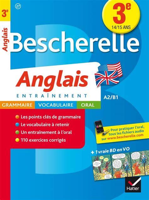 Bescherelle Anglais 3e Cahier De Revisions