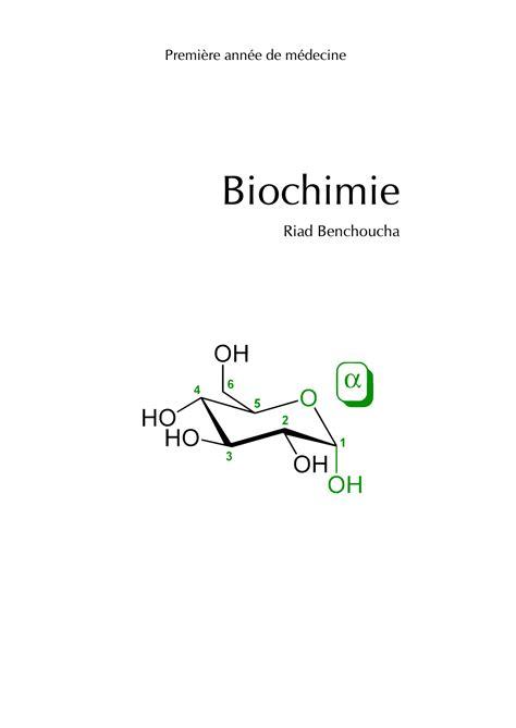 Biochimie Metabolique Troisieme Edition Revue Et Corrigee