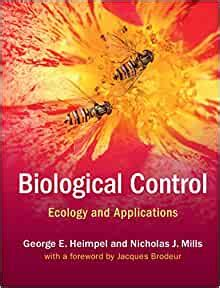 Biological Control Ecology And Applications