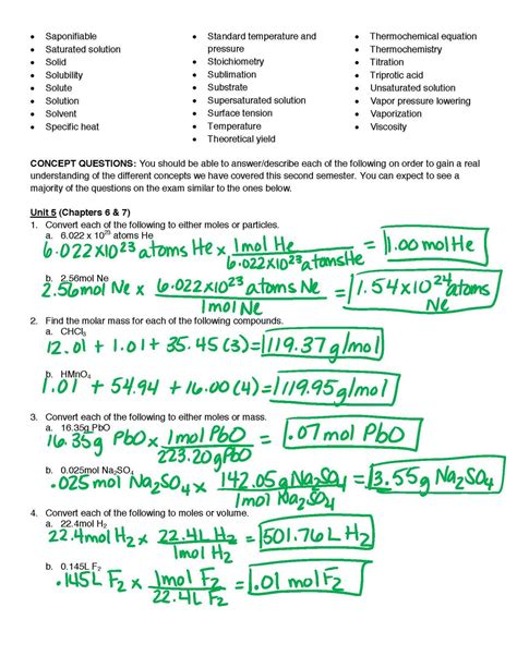 Biology Study Guide Answer Key Booklet