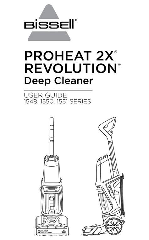Bissell Proheat 2x Repair Manual