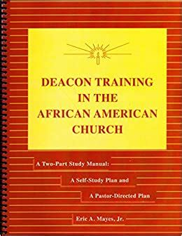 Black Baptist Deacon Training Manual