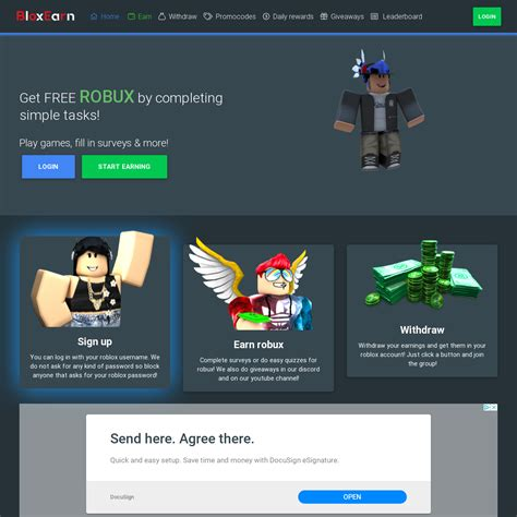 A Guide To Bloxearn Free Robux