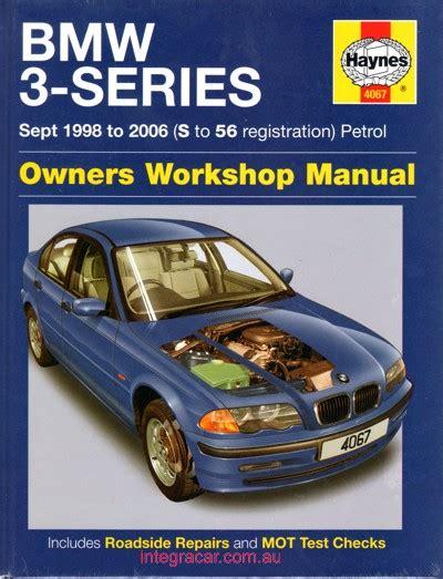 Bmw 3 Series Workshop Manual