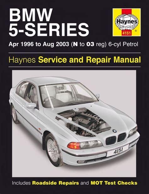 Bmw 5 Serie Repair Manual
