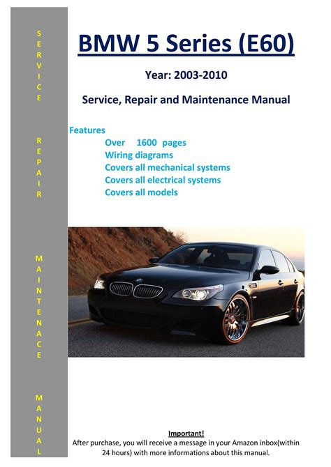 Bmw E60 Owners Manual
