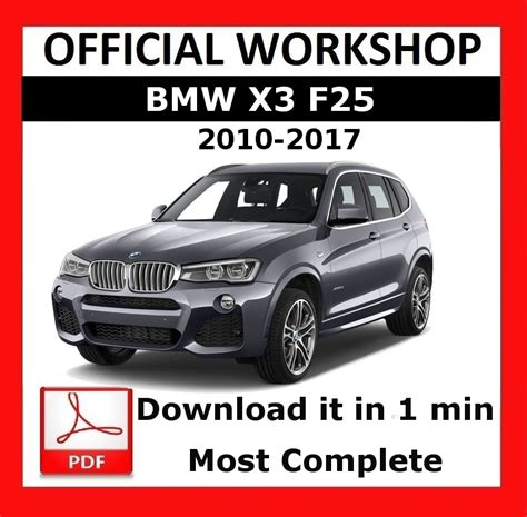 Bmw F25 Owner Manual