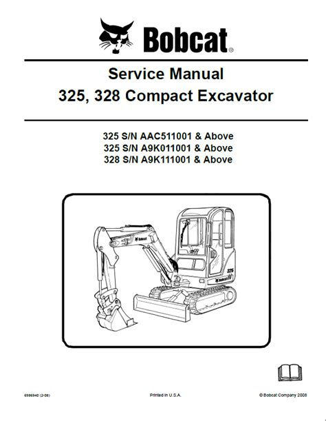 Bobcat 325 Repair Manual