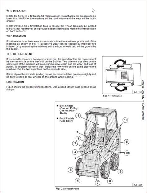 Bobcat 371 Loader Factory Service Workshop Manual