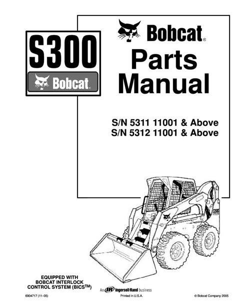 Bobcat S300 Maintenance Manual