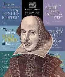 Bodleian Libraries - Shakespeare's Insults desk diary 2017