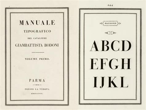 Bodoni Manual De Tipografia