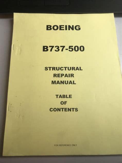 Boeing 737 Structural Repair Manual