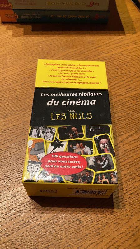 Boite A Questions Les Meilleures Repliques Du Cinema Pour Les Nuls