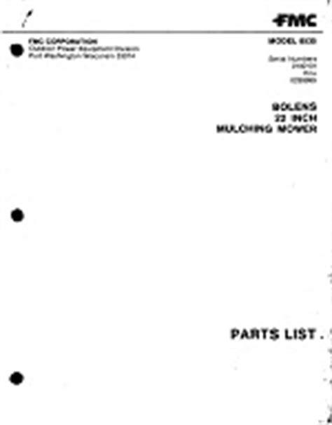 Bolens 8535 Manual