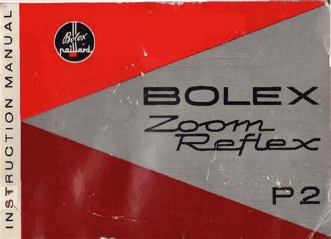 Bolex P2 8mm Movie Camera Manual