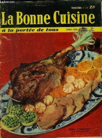Bonne Cuisine A La Portee De Tous La No 36 Du 01
