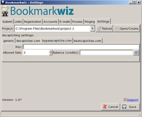 Bookmarkwiz