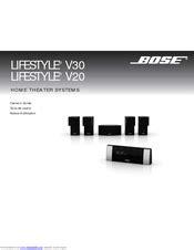 Bose Lifestyle V20 Owner Manual