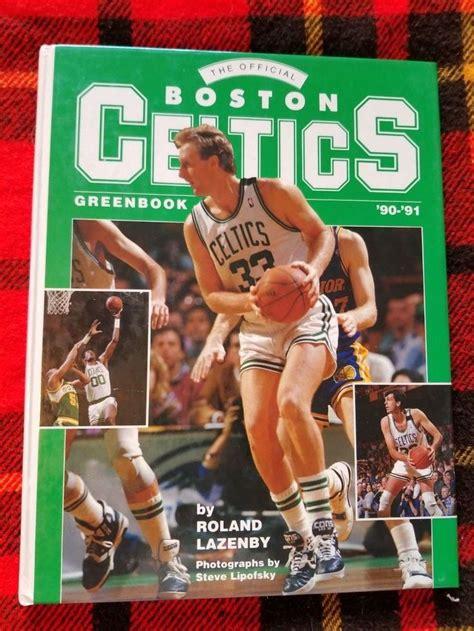 Boston Celtics Greenbook 90 9 Cb Official Boston Celtics Greenbook