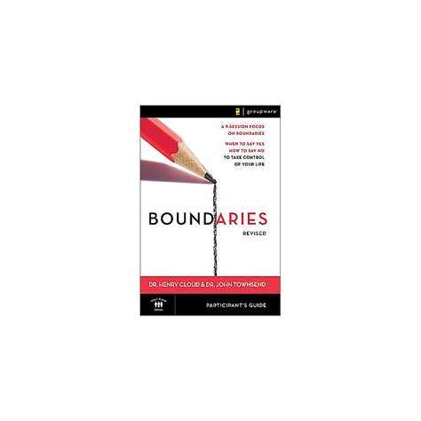 Boundaries Revised Participant Guide