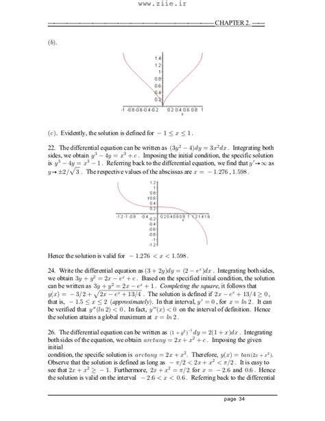 Boyce Diprima Differential Equations 9e Solution Manual