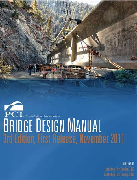 Bridge Design Manual Australian Standard
