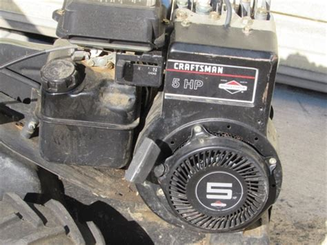 Briggs And Stratton Manual 5 Hp Tiller