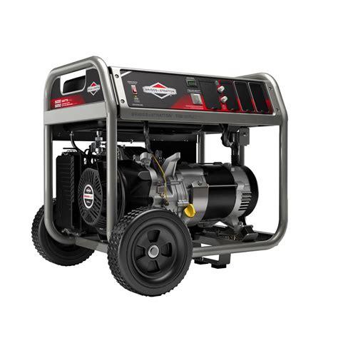 Briggs Stratton 5000 Watt Portable Generator Manual