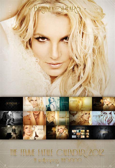 Britney Spears 2012 Calendar