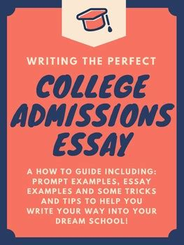Brodys Guide To The College Admissions Essay