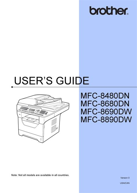 Brother Printer User Guide