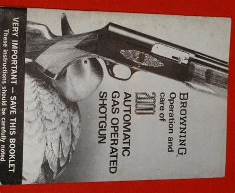 Browning 2000 Owners Manual