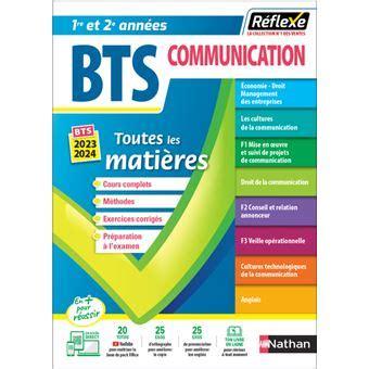 Bts Communication Toutes Les Matieres 16