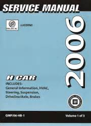 Buick Lucerne 2006 Service Manual