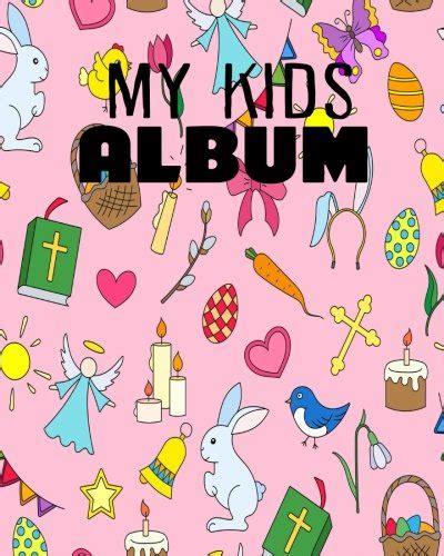 Bunny My Sticker Blank Sticker Book Sticker Journal8x10 100 Pages Volume 4