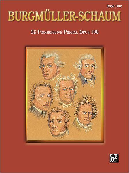 Burgmuller Schuam Bk 1 25 Progressive Pieces Opus 100 Schaum Master Composer