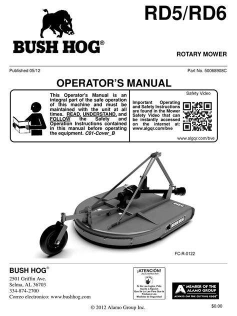 Bush Hog Service Manual