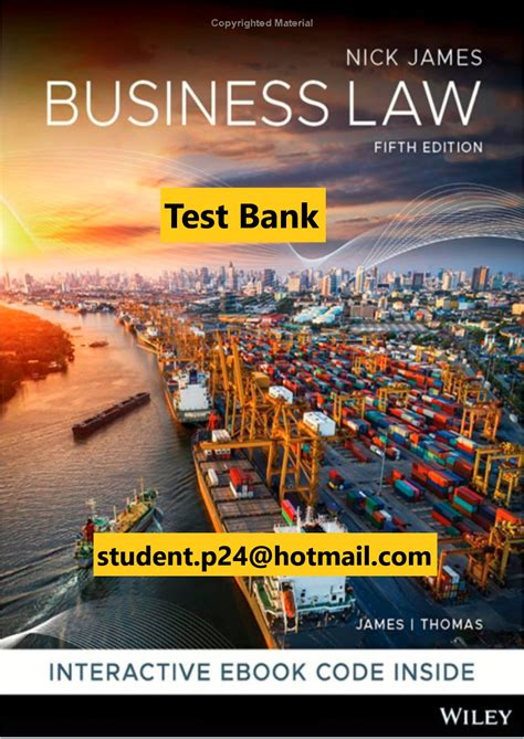 Business Law Study Guide 5th Edition
