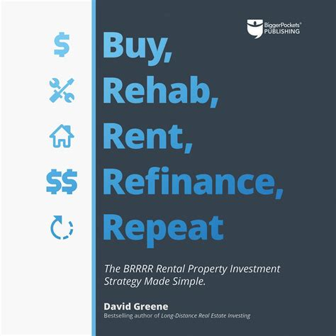 Buy Rehab Rent Refinance Repeat The Brrrr Rental Property Investment Strategy Made Simple English Edition