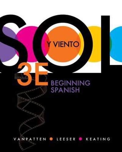 By Bill Vanpatten Workbooklab Manual Manual De Actividades Volume 2 For Sol Y Viento 3rd Edition