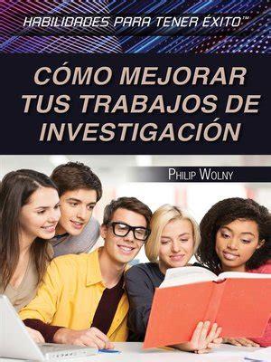 Cómo Mejorar Tus Trabajos De Investigación/ Strengthening Research Paper Skills (Habilidades Para Tener Éxito/ Skills for Success)