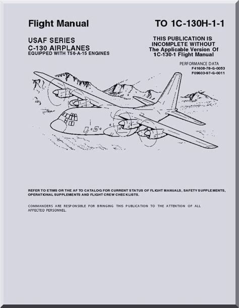 C 130h Aircraft Training Manual