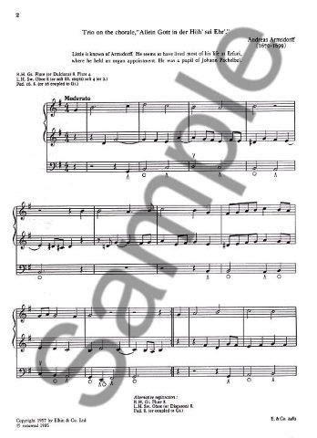 C H Trevor The Progressive Organist Book 3 Partitions Pour Orgue