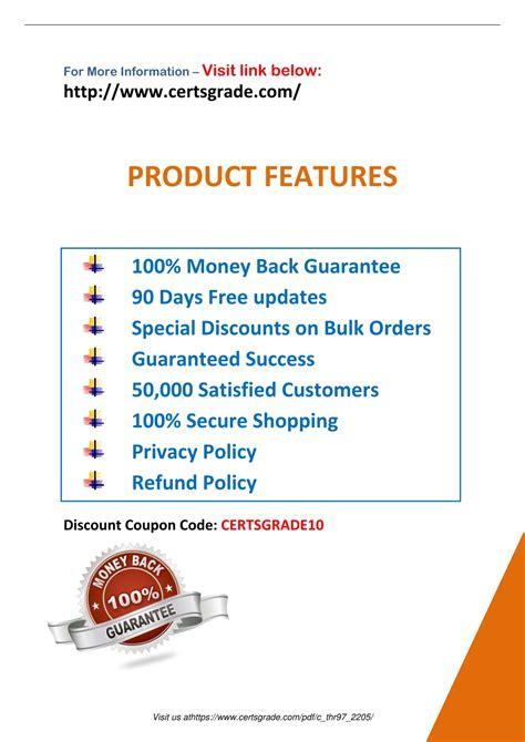 C-THR97-2105 PDF Demo