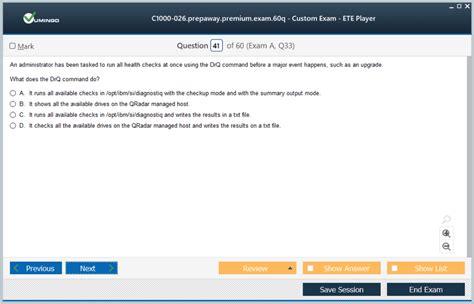 C1000-026 Examengine