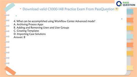 C1000-120 Valid Exam Sample