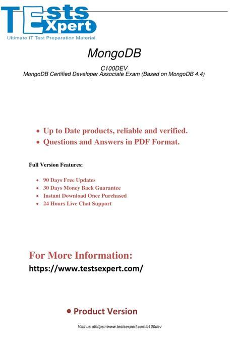 C100DEV Online Tests