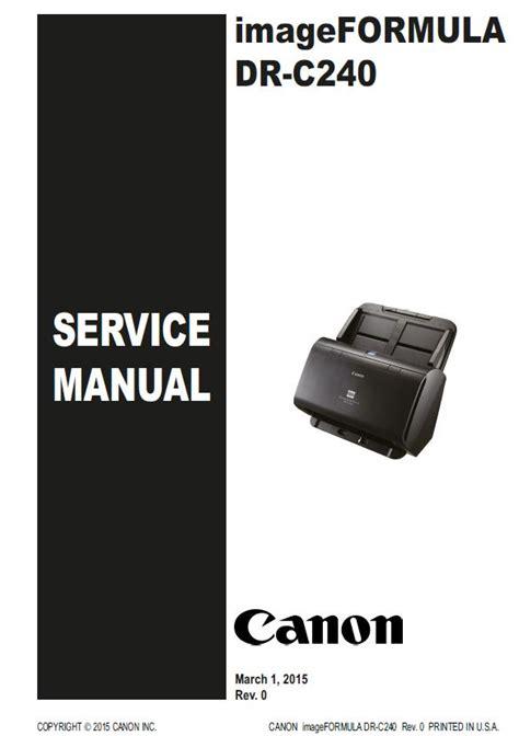 C240 Service Manual